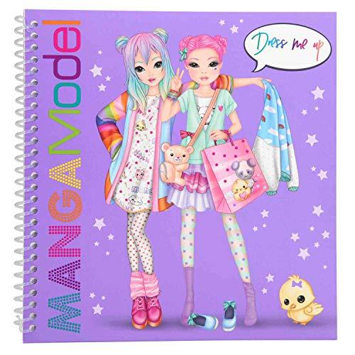Depesche 6585 - Libro da colorare Dress Me up Manga, Multicolore