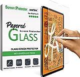 amFilm PAPERed Matt Panzerglas Schutzfolie für iPad Air 4 10.9 Zoll (2020) & iPad Pro 11'' (2021/2019), 9H Hartglas Bildschirmschutzfolie, Papiermatter Oberfläche, Kompatibel mit Face ID und Apple Pencil