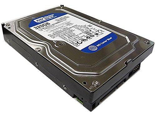 Western Digital (WD) Caviar Blue 320 GB (320gb) SATA II 7200 RPM 8 MB Cache Bulk/OEM Desktop Hard Drive for...
