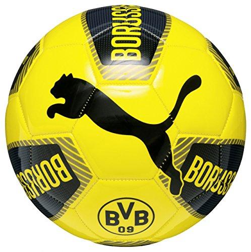 PUMA Ball BVB Fanwear, Black/Ebony/Cyber Yellow, 5