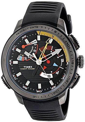 Timex Orologio Cronografo Quarzo Uomo con Cinturino in Gomma TW2P44300
