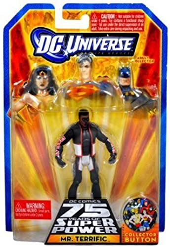 DC Universe Infinite Heroes 75 Years of Super Power Action Figure Mr. Terrific by