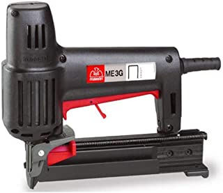 Maestri ME 3G - Heavy Duty Electric Upholstery Stapler | High Industrial Quality Material | Household Upholstery Applications | 10,000 Free Staples.