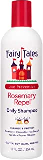 Fairy Tales Rosemary Repel Daily Kid Shampoo for Lice Prevention, 12 Fl. Oz (Pack of 1)