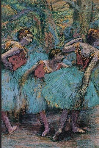 Academic Planner Diary. 2019 - 2020.: Degas Ballerina impressionist themed academic planner 2019 - 2020