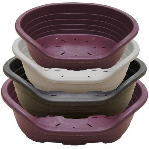 Ibañez Cuna para Perros Plástico 82x60x25(alt) cm