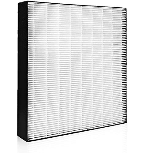 KAFP080B4 加湿空気清浄機交換用フィルター 加湿用 静電HEPAフィルター 交換用集じんフィルター 脱臭一体型 空気清浄機用交換部品 (KAFP080A4 の後継品) 互換品 汎用型(KAFP080B4)