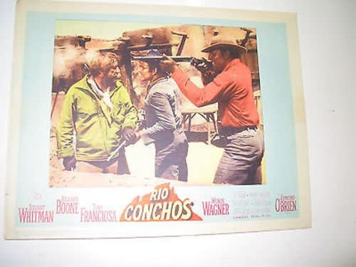 RIO Cheap sale CONCHOS ORIG. U.S. 2021 new 11X14 BOONE 5 CARD LOBBY RICHARD