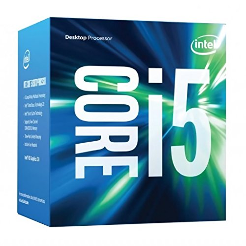 Intel Core i5-6500, 3.2 GHz (Turbo Boost 3.6 GHz), 4 núcleos, 6 MB caché Socket 1151 (Reacondicionado)