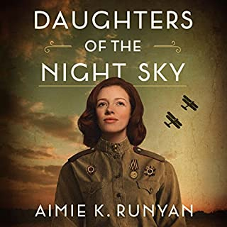 Daughters of the Night Sky                   By:                                                                                                                                 Aimie K. Runyan                               Narrated by:                                                                                                                                 Kathleen Gati                      Length: 10 hrs and 15 mins     1,201 ratings     Overall 4.4