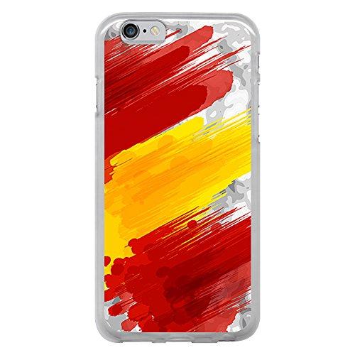 BJJ Funda Transparente para  iPhone 6 6S , Carcasa de Silico