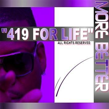 419 For Life - Single
