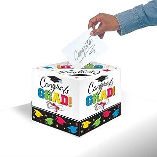 Amscan Graduation Gift Box, Multi