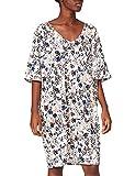 CALIDA Damen Favourites Flowers Sleepshirt Nachthemd, Star White, 40-42