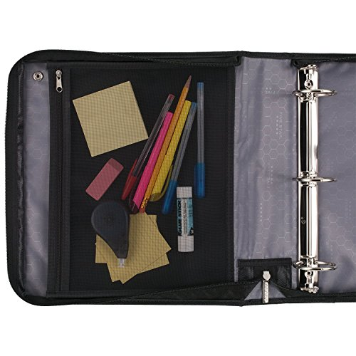 Five Star Sewn Zipper Binder, 2 Inch 3 Ring Binder With 4 Inch Capacity, Assorted Colors, Color Selected For You, 1 Count (28044) Photo #11