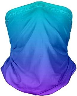 Multifunctional Headwear Gradient Color Printed Seamless Balaclava Headscarf Men Women Bandana Wide Headband Headchief Nec...