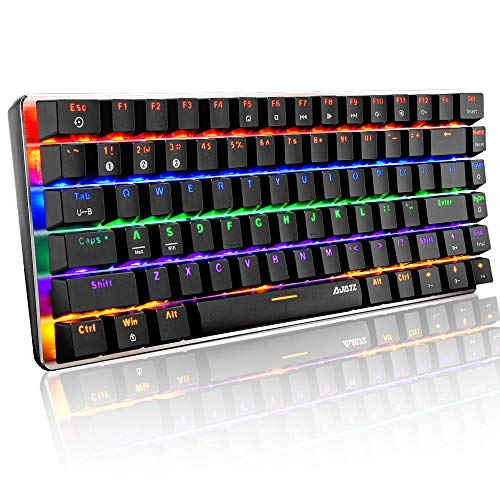 AK33 Bluetooth Gaming Mechanical Keyboard, Wireless & Wired Two Mode, 3...