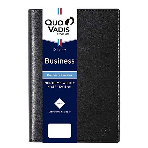 クオバディス2021年版12月始ビジネスソーホーブラックqv00405bk