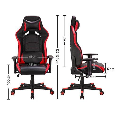 Gaming Stuhl Schreibtischstuhl Bild 5*