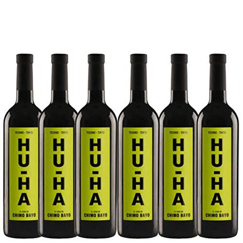 Vino tinto Hu-Ha - Pack 6 Botellas - 75cl