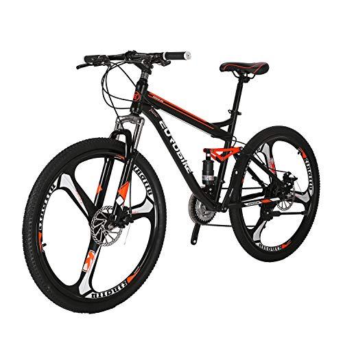 YH-S7 Full Suspension Mountain Bike 18 inch Frame 21 Speed...