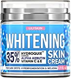 LILYSKIN Cream, Natural Skin Lightening - Made in USA - Works for Hyperpigmentation - Bleach Skin Easy - 1.7 oz.