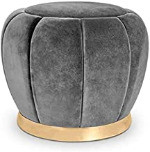 Yxsdd Home&Garden Furniture Makeup Stool Seating Footstool Footrest Ottoman Round Chair Foot Stool for Living Room Bedroom...