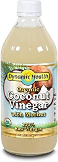 Dynamic Health - Organic Coconut 100% Raw Vinegar with Mother - 16 fl. oz.