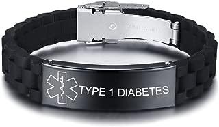 pulseras de identificación médica diabetes uk life