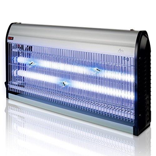 Gardigo Insektenvernichter 150m² mit UV Licht | Insektenabwehr elektrisch gegen Mücken, Fliegen, Moskitos | Mückenschutz Lampe