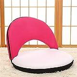 WOAINI Faules Sofa, Faltbare Bodensitzmöbel Verstellbarer gepolsterter Bodenstuhl Lazy Sofa Game Meditation Chair (Farbe : #4)