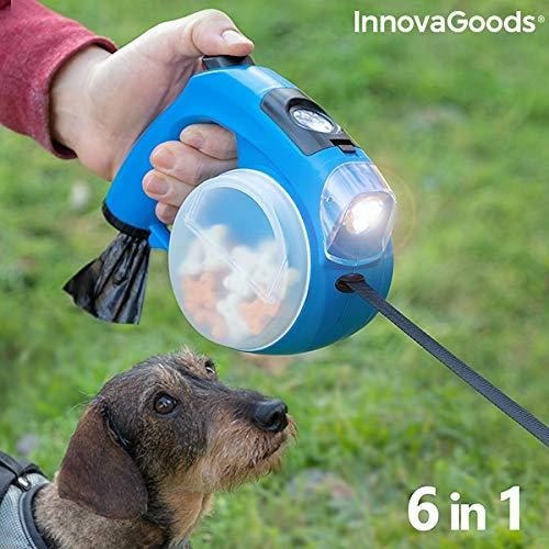 InnovaGoods IG815936 Hundeleine, einziehbar, 6 in 1