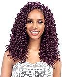 FreeTress Synthetic Hair Crochet Braids GoGo Curl 12' (4-Pack, 1B)