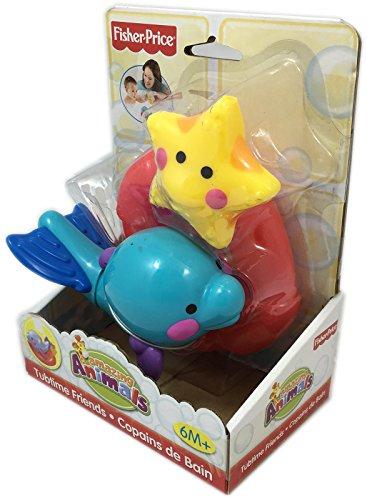 Fisher price - m4048 - jouet de bain - copains de bain dauphin