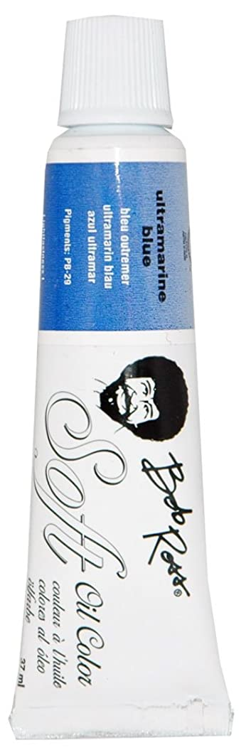 BobRoss MR6712 37-Ml Soft Artist Oil Color, Ultramarine Blue