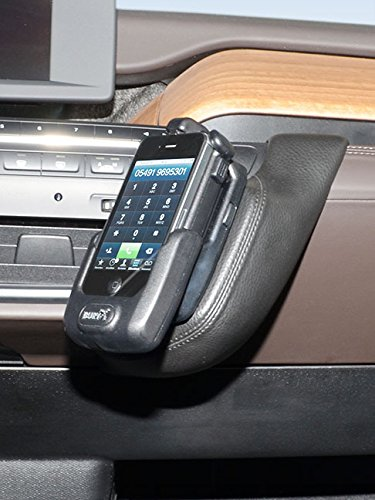 KUDA Telefonconsole (LHD) per BMW i3AB 2013in vera pelle NERO