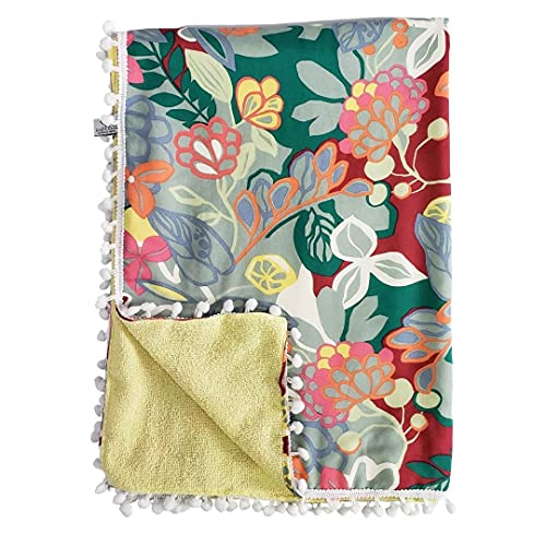 Canga toalha floral Lar em Cor
