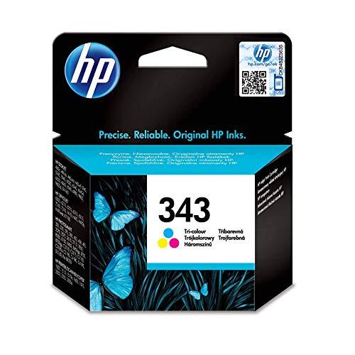 HP 343 Farbe Original Druckerpatronen für HP OfficeJet, DeskJet, Photosmart