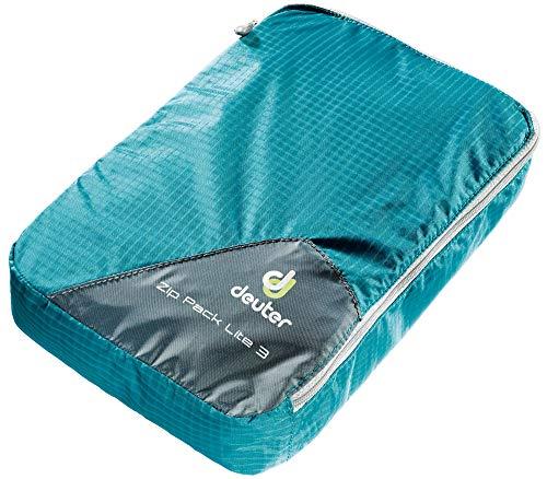 Deuter Zip Pack Lite 3 Bolsa de Viaje, Unisex Adulto, Verde (Petrol), 12x16x28 Centimeters (B x H x T)