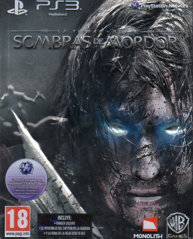La Tierra Media, Sombras de Mordor (ps3) caja metálica