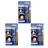 Roux Tween Time Instant Root Concealer Dark Brown, 1 ea (Pack of 3)