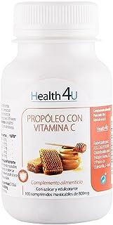 H4U Propóleo con Vitamina C 100 comprimidos de 800 mg