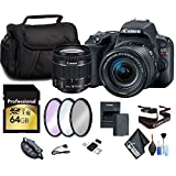 Canon EOS Rebel SL2 DSLR Camera 18-55mm Lens 64GB Memory Card Essential Accessories Starters Package