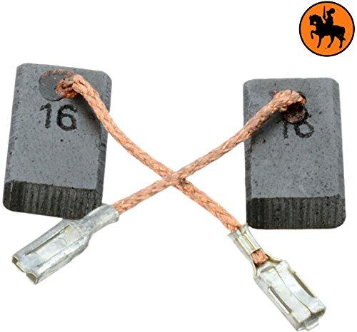 Kohlebürsten für BOSCH GWS 14-125 CI Schleifer -- 5x10x16mm -- 2.0x3.9x6.3'' -- Mit automatische Abschaltung