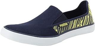 Puma Men's Campario Idp Peacoat-Blazing Yellow Sneakers