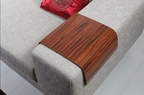 Sofa tray table sofa Free shipping anywhere in the nation arm Full Walnut Euro Free shipping on posting reviews Canada Slatted