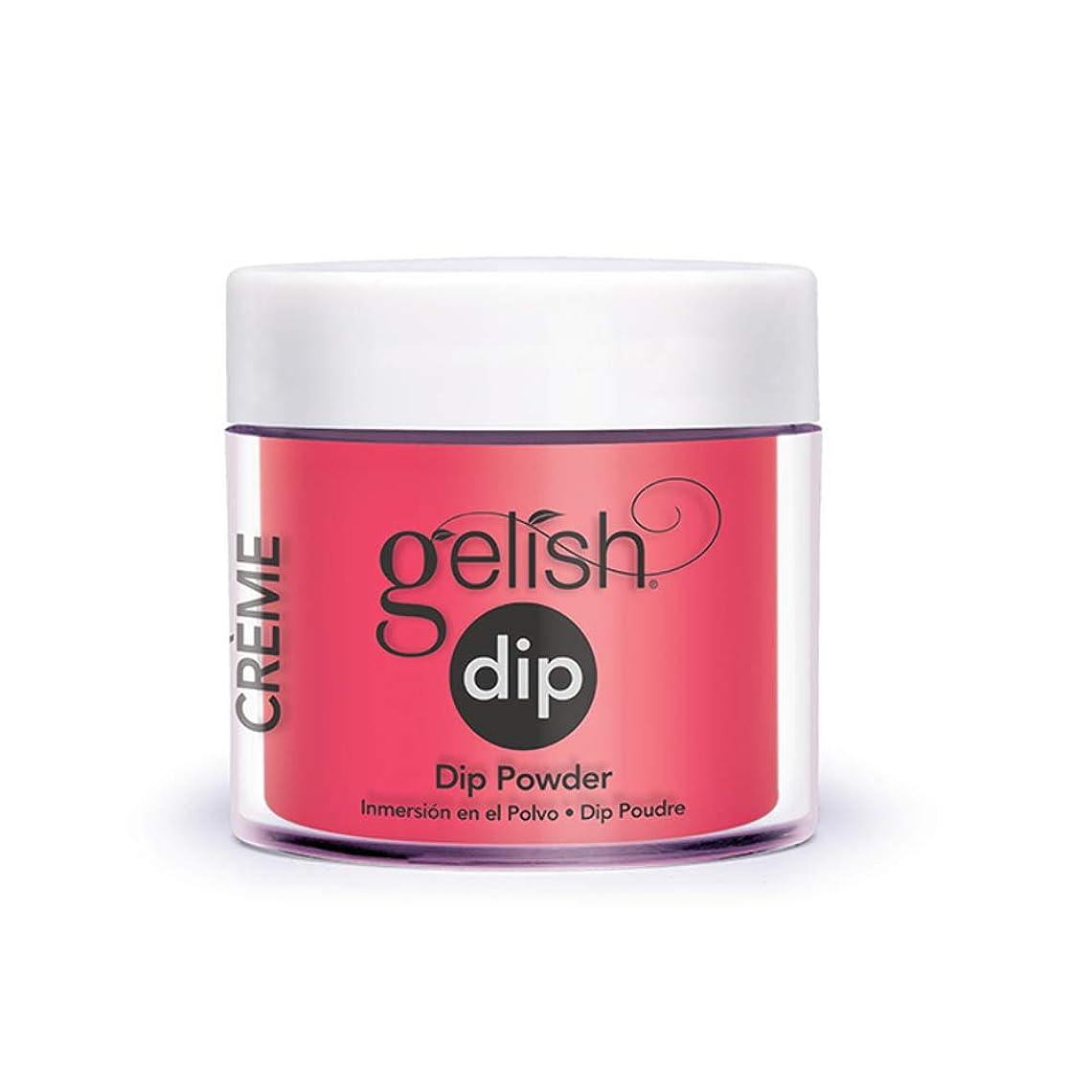持つ病的病的Harmony Gelish - Acrylic Dip Powder - Pink Flame-ingo - 23g / 0.8oz