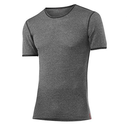 LÖFFLER Transtex sous-vêtement Fonctionnel à Manches Courtes Light, pour Homme, Gris, 46