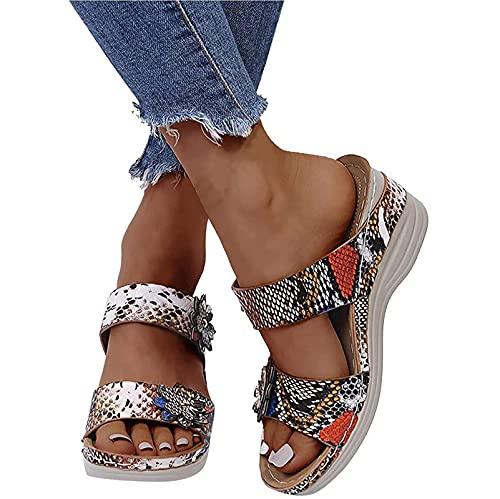 ZLZNX Mujeres Cómodas Sandalias Corrector De Juanetes Ortopédico para Mujeres Zapatos Ortopédicos de Corrección de pie de Dedo Gordo Corrector de Juanetes Ortopédico,B,36 CN
