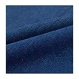 Azul Tela De Mezclilla De Algodón Ropa De Diseñador Material Tapicería De Confección 150 Cm De Ancho -...